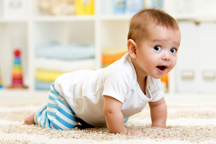 how to teach your baby to crawl