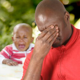 postpartum depression in males