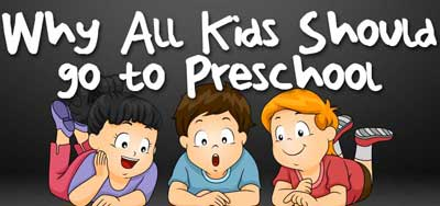 is playschool necessary for kids