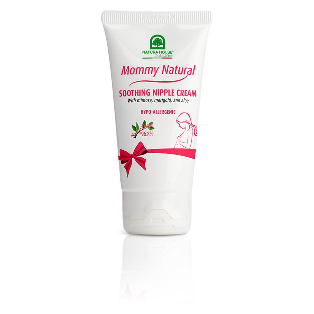 natura house mommy natural soothing nipple cream