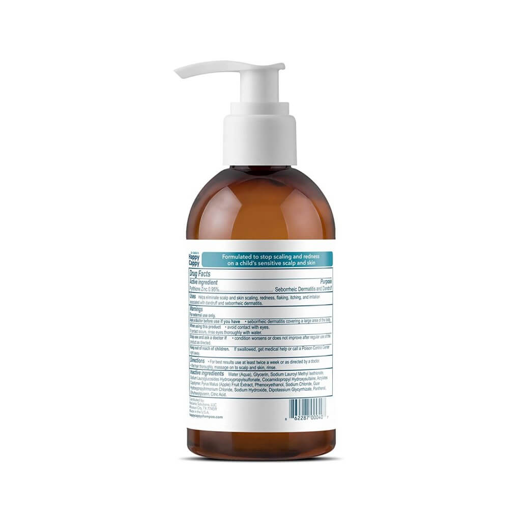 Dr. Eddy's Happy Cappy Medicated Shampoo for dandruff in kids
