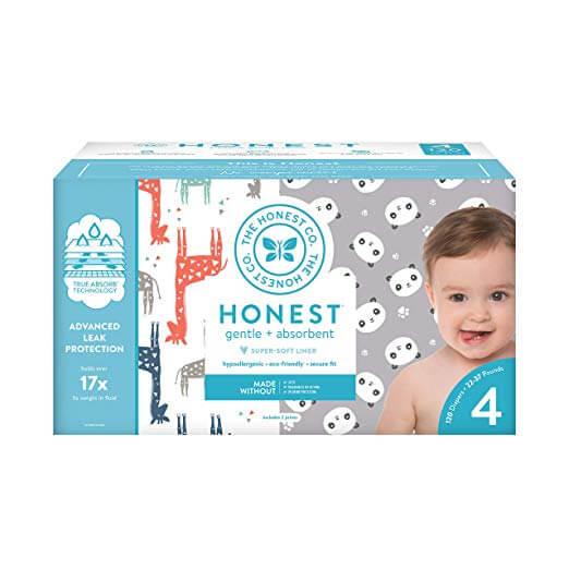 Honest biodegradable diapers
